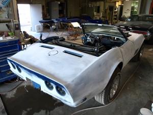 1969 chevy corvette precision car restoration. Black Bedroom Furniture Sets. Home Design Ideas