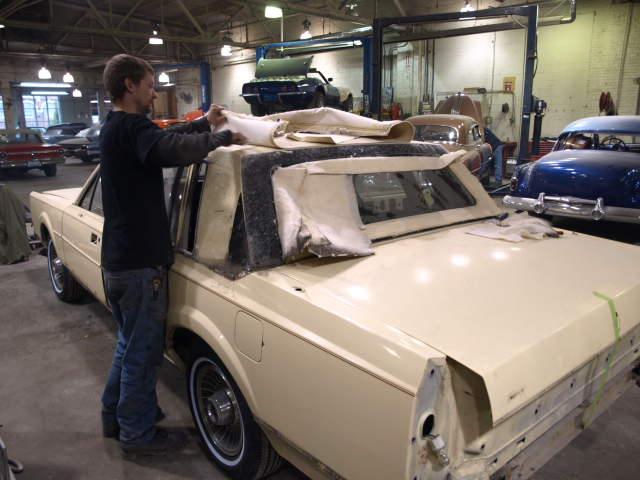 1985 Lincoln Town Car Precision Car Restoration