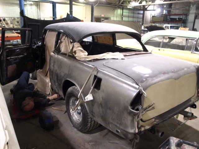 1955 Chevy Gasser Precision Car Restoration