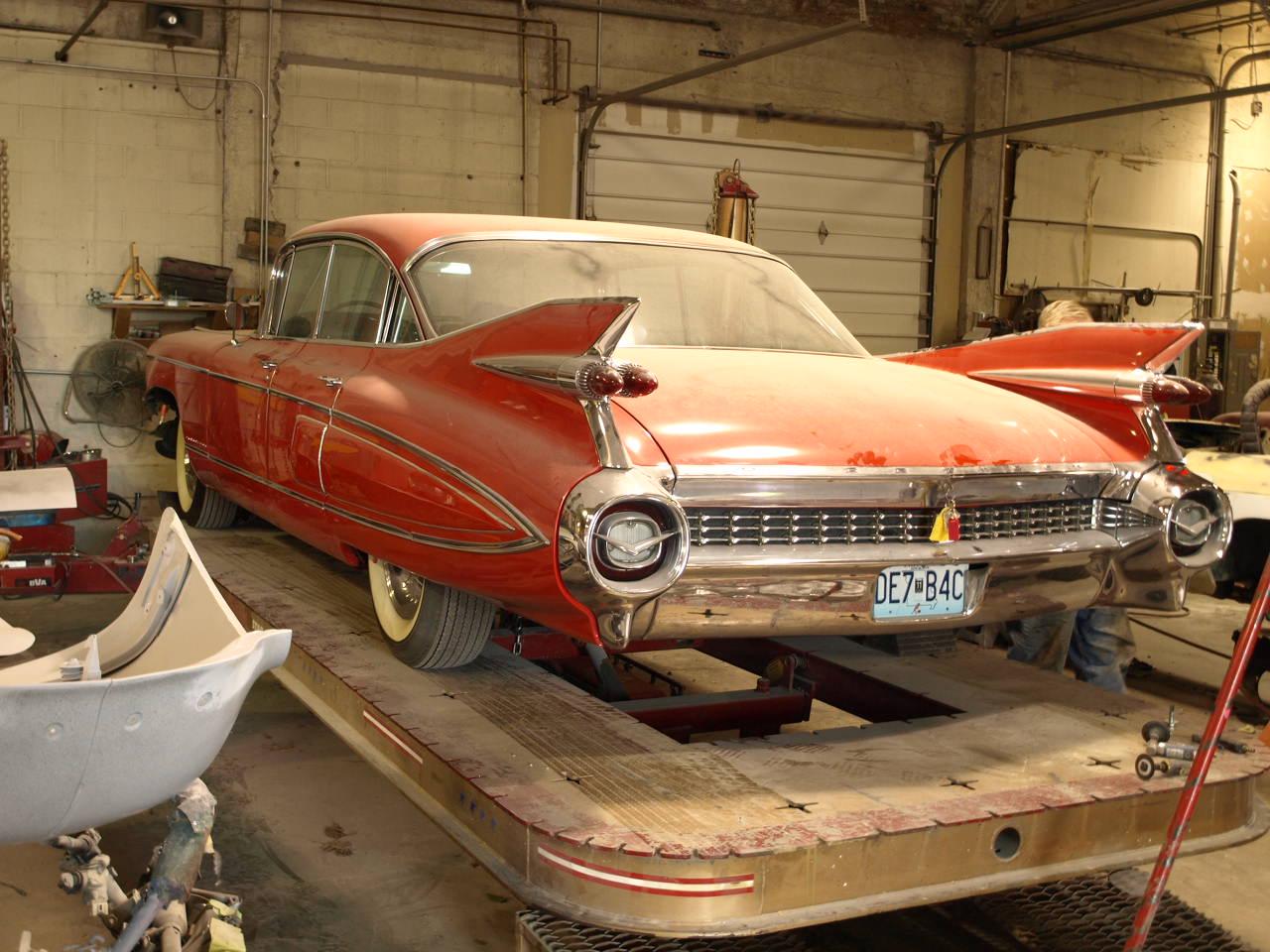 1959 Cadillac Fleetwood - Precision Car Restoration