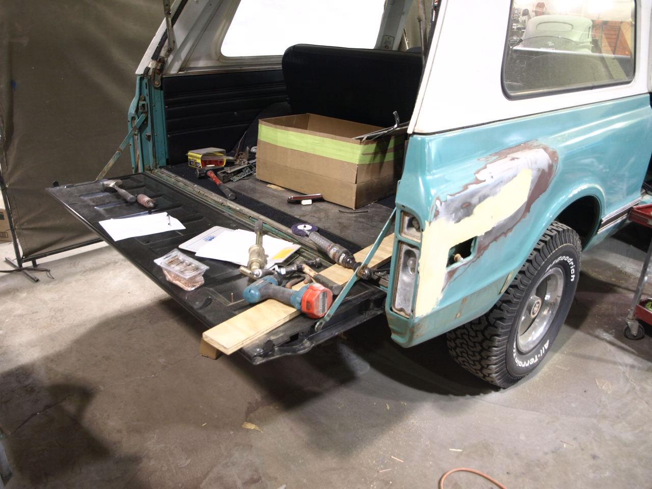 1972 Chevy Blazer Precision Car Restoration
