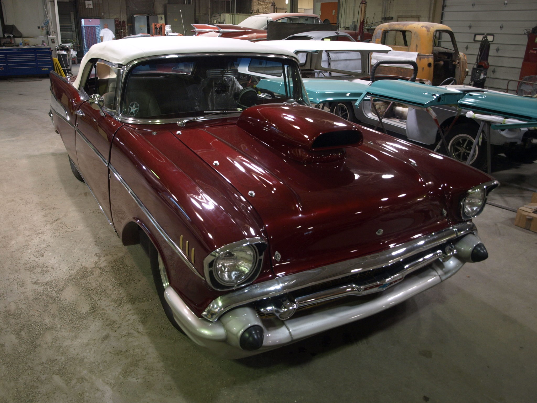 1957 Chevy Bel Air Precision Car Restoration Front Suspension