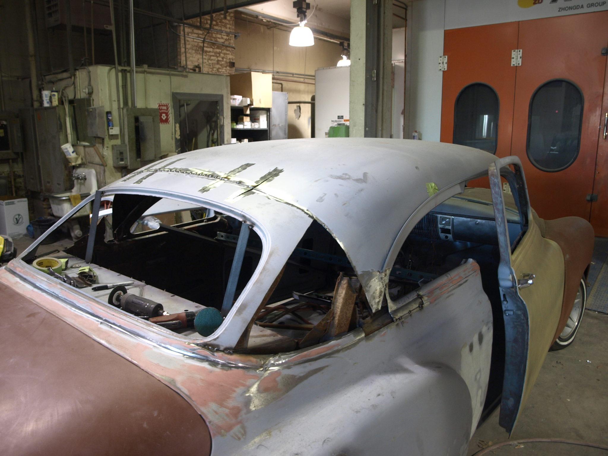 1950 Chevy Precision Car Restoration