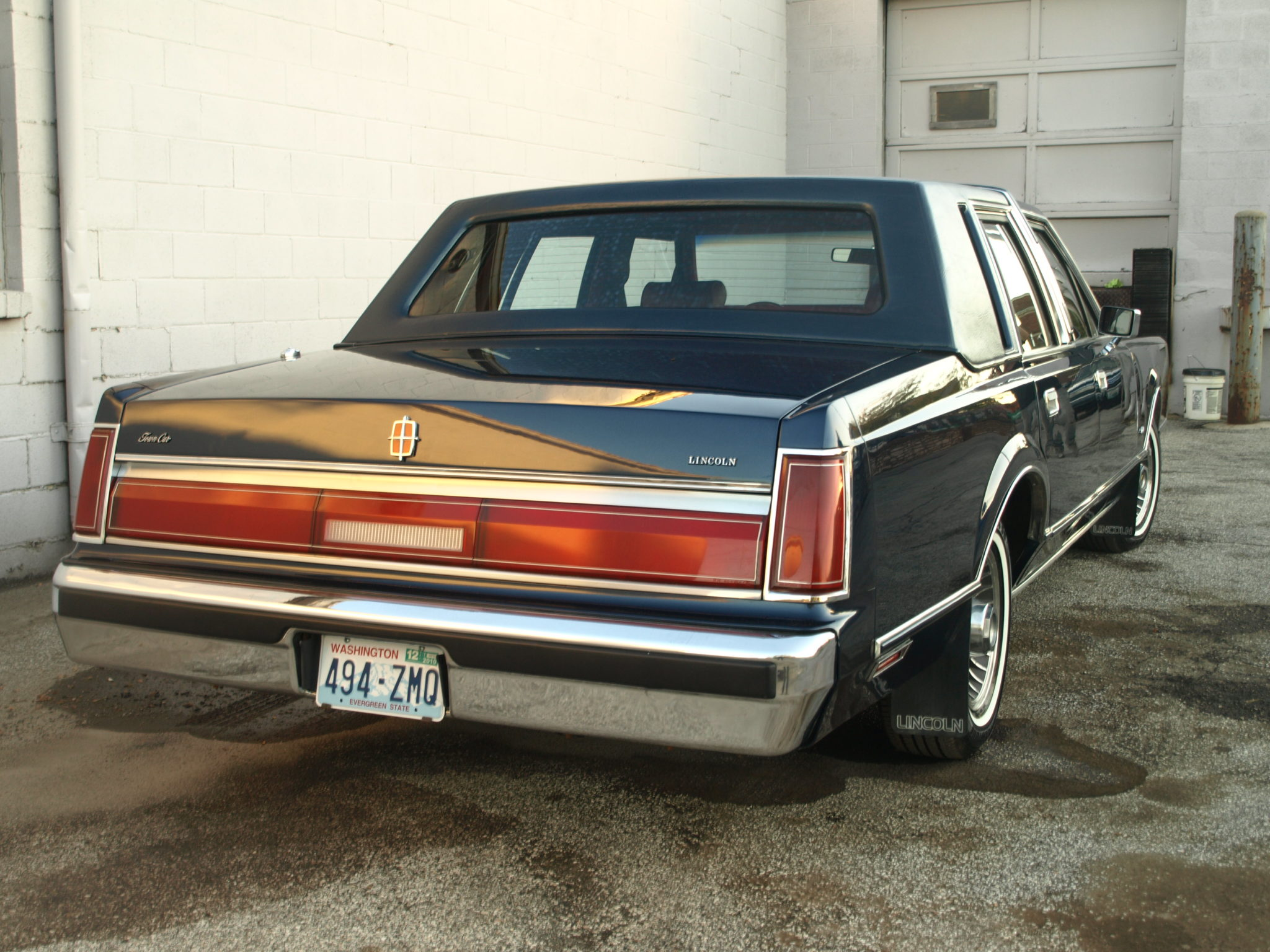 1988 lincoln town car restoration