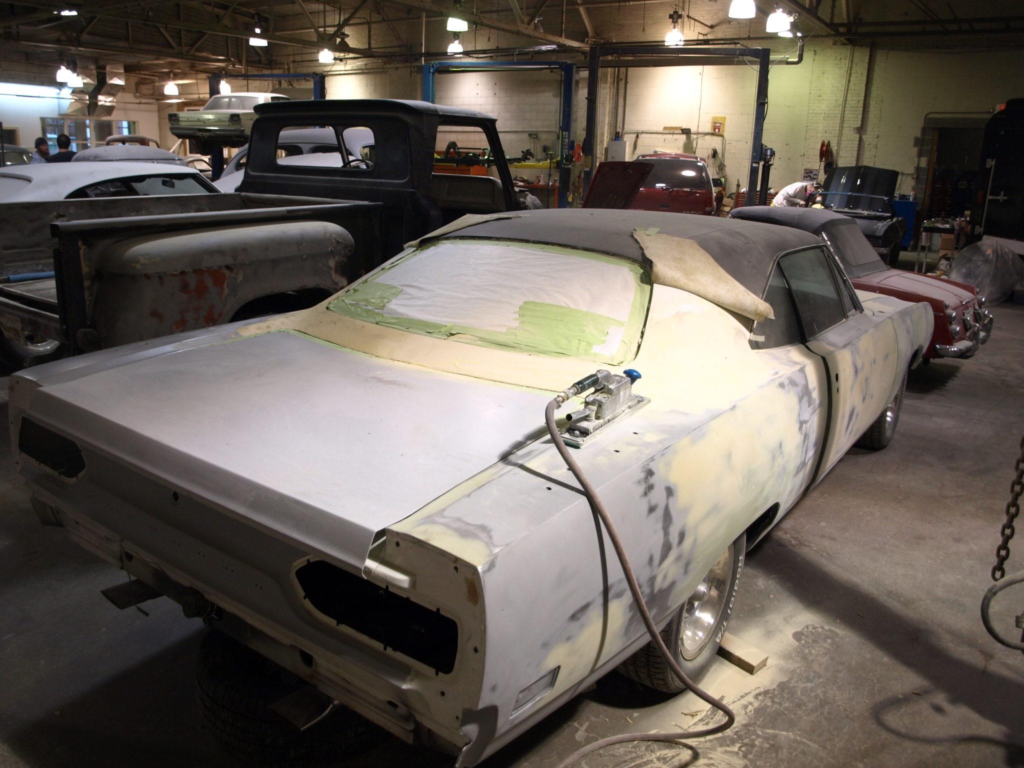 1970 plymouth superbird precision car restoration