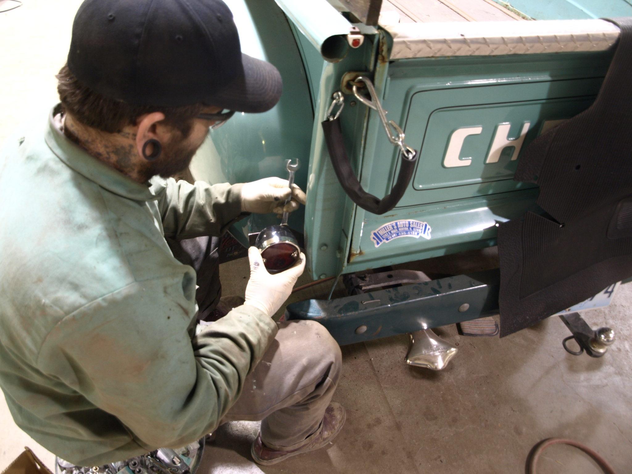 1949 Chevy Pickup Precision Car Restoration