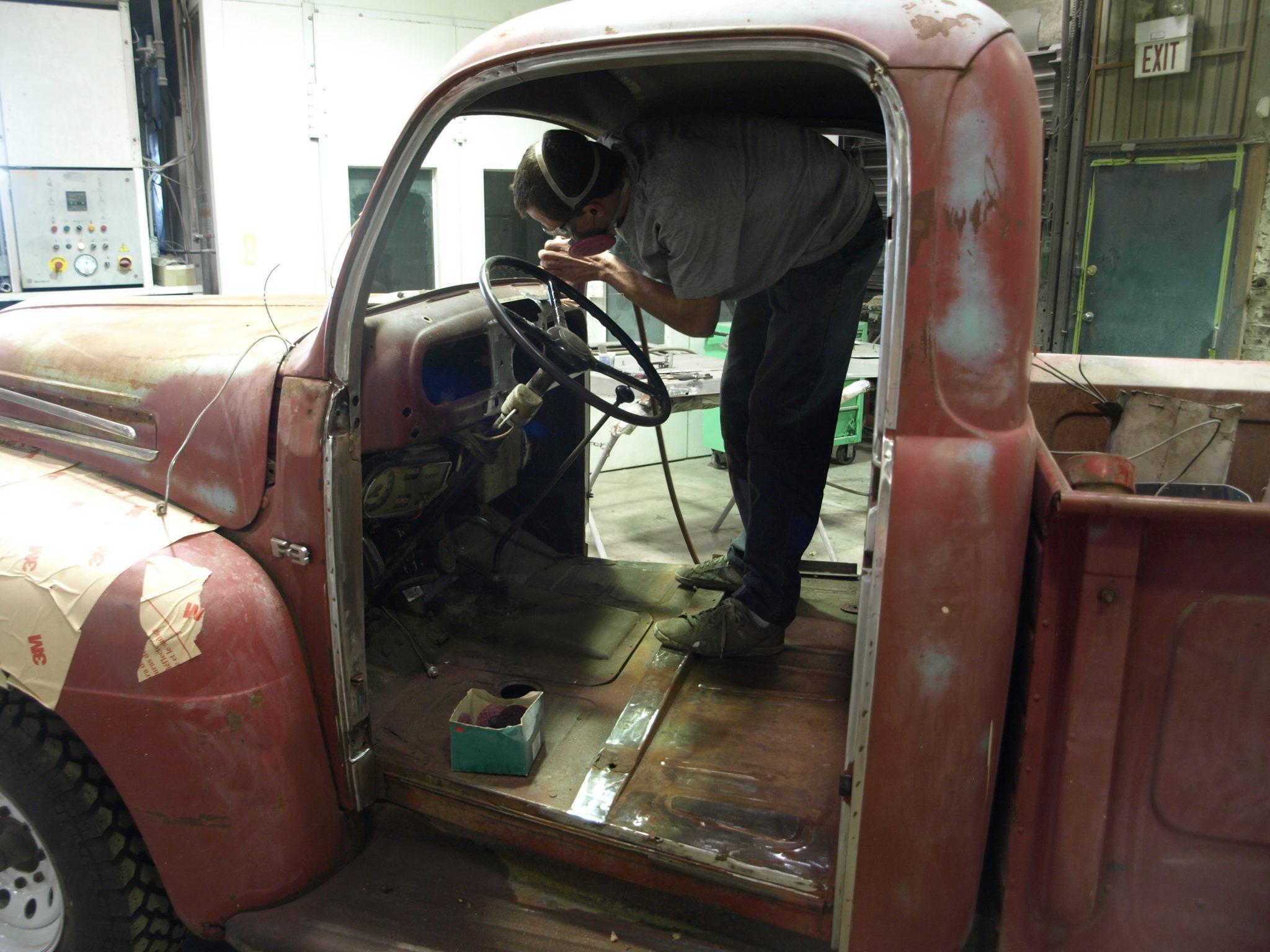 1949 Ford F1 Precision Car Restoration Fenders