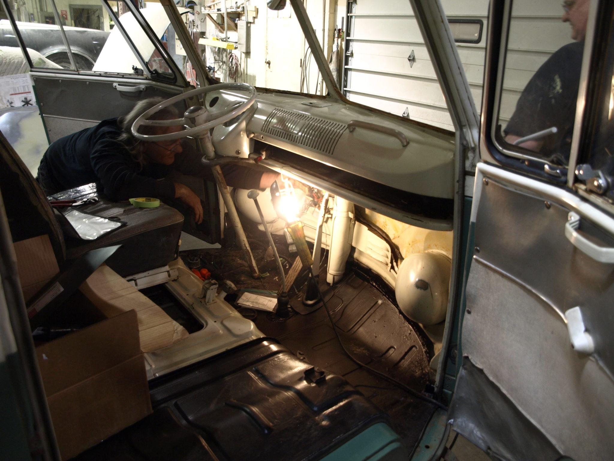1966 vw bus precision car restoration. Black Bedroom Furniture Sets. Home Design Ideas