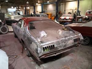 1972 dodge demon precision car restoration. Black Bedroom Furniture Sets. Home Design Ideas