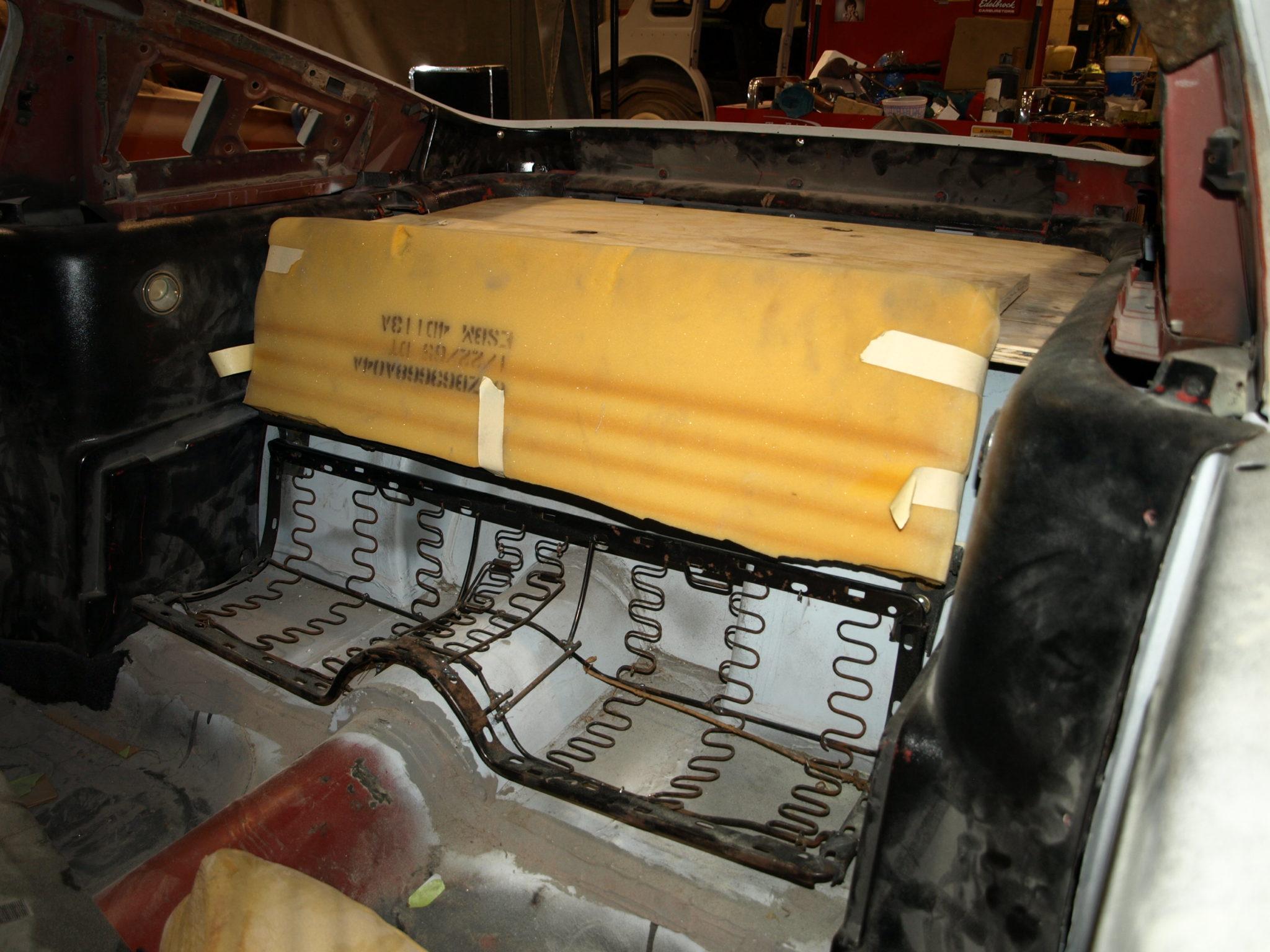 Fastback Mustang Restoration 1965 Ford Mustang Fastback