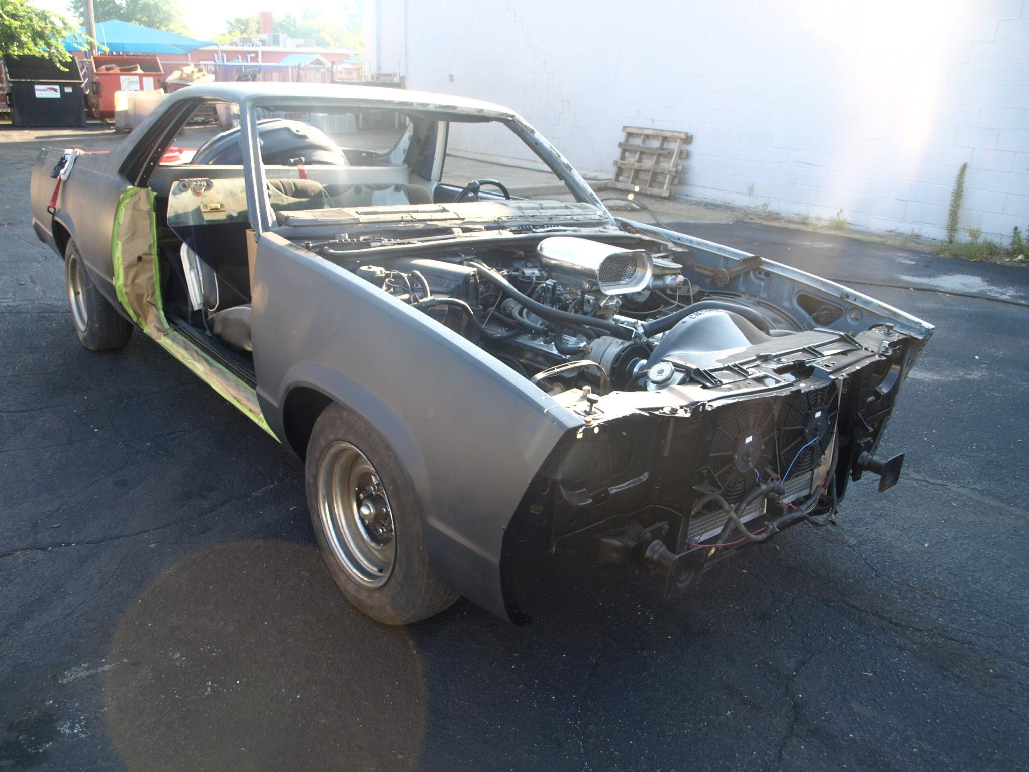 1980 Chevy El Camino Precision Car Restoration