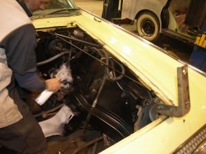 1961 lincoln continental precision car restoration. Black Bedroom Furniture Sets. Home Design Ideas