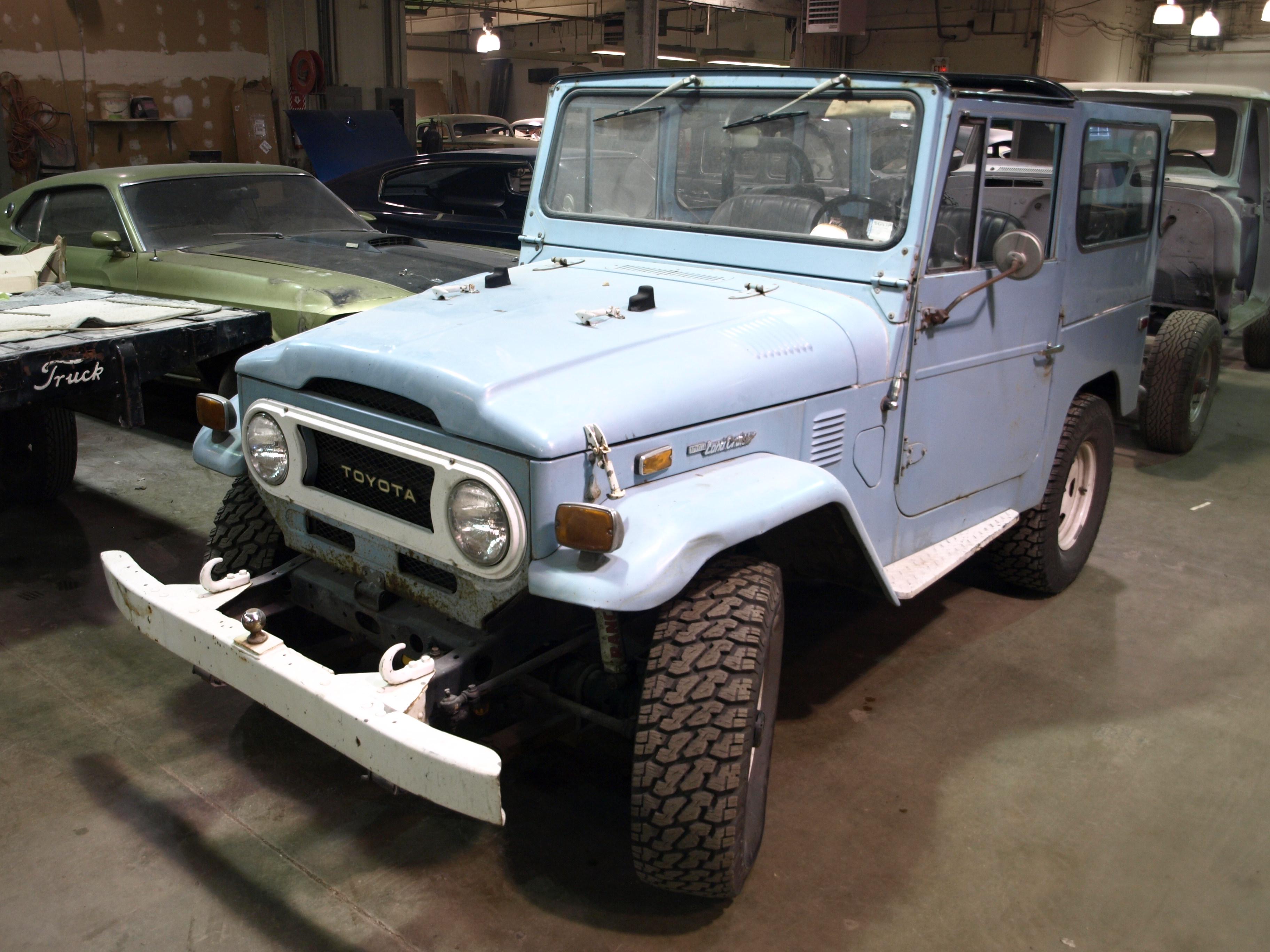 1974 Toyota Landcruiser Precision Car Restoration