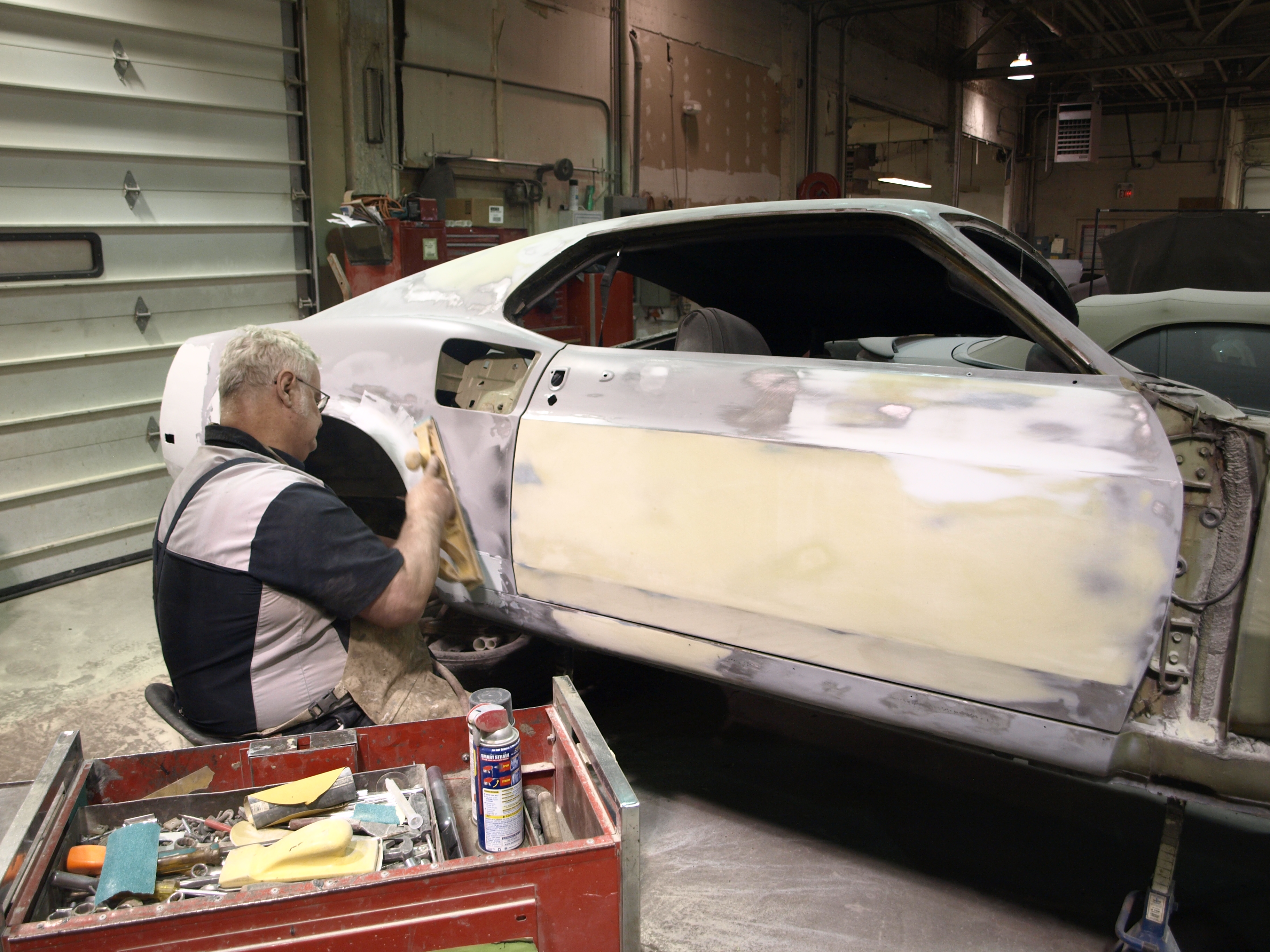 1969 Ford Mustang Mach 1 Precision Car Restoration