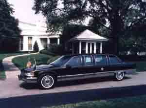 1993 fleetwood presidential limo