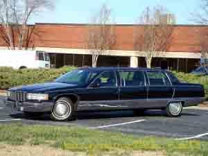 1996 fleetwood limo