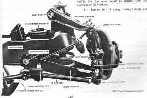 Holden HK HT HG Front Suspension