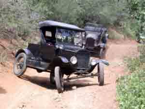 model a off road