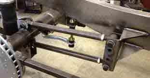 Adjustable Panhard Bar Frame Mount