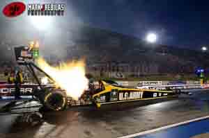 top fuel launch